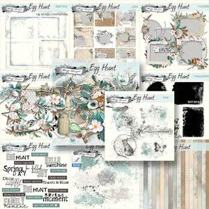 Egg Hunt [ Bundle PU ] by Florju Designs
