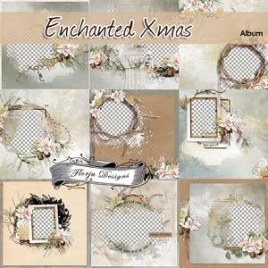 Enchanted Xmas [ Album PU ] by Florju Designs