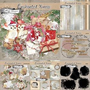 Enchanted Xmas [ Bundle PU ] by Florju Designs