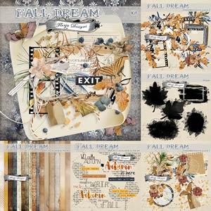 Fall Dream [ Bundle PU ] by Florju Designs
