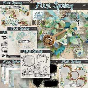 First Spring { Bundle PU } by Florju Designs