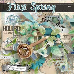 First Spring {  Kit PU } by Florju Designs