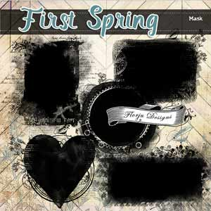 First Spring { Mask PU } by Florju Designs