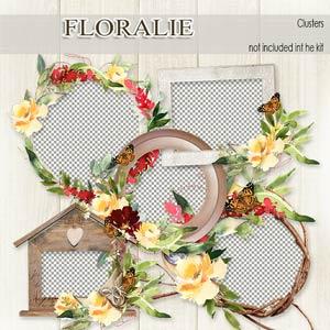 Floralie Clusters by Florju Designs PU
