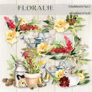 Floralie Embellishments pack 2 by Florju Designs PU