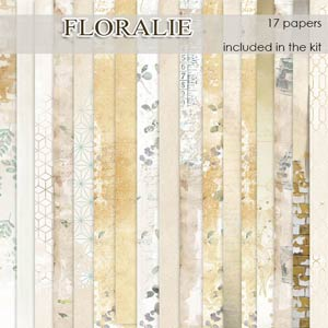 Floralie Papers by Florju Designs PU