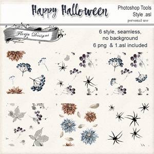 Happy Halloween Style PU by Florju Designs