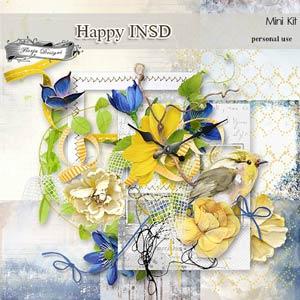 Happy INSD Mini KIT PU  by Florju Designs