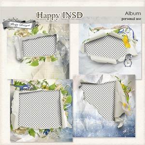 Happy INSD Album PU  by Florju Designs