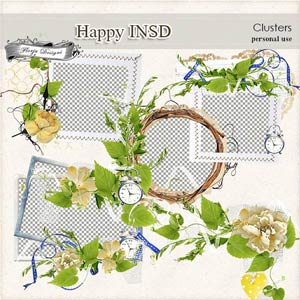 Happy INSD Clusters PU  by Florju Designs