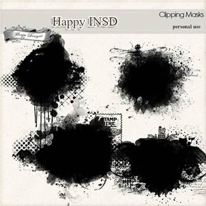 Happy INSD Masks PU  by Florju Designs