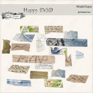 Happy INSD Tapes PU  by Florju Designs