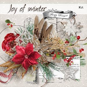 Joy Of Winter { Kit PU } by Florju Designs