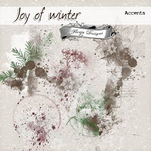 Joy Of Winter { Accents PU } by Florju Designs