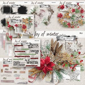 Joy Of Winter { Bundle PU } by Florju Designs