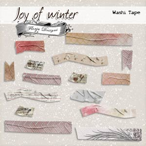 Joy Of Winter { Washi Tape PU } by Florju Designs