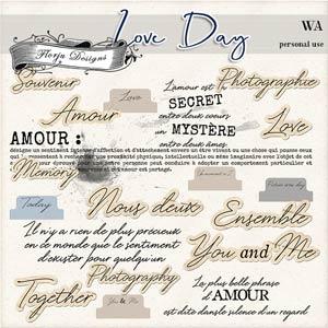Love Day WordArt PU by Florju designs