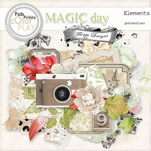 Magic Day Elements PU  by Florju Designs