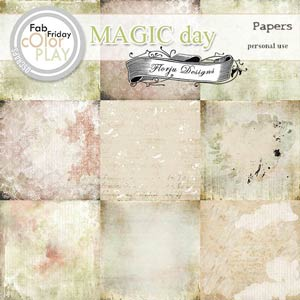 Magic Day Papers PU  by Florju Designs