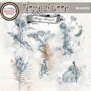 Memories Of Summer [Accents PU ] by Florju Designs
