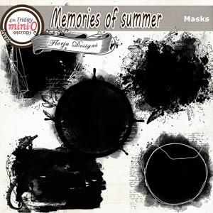Memories Of Summer [Masks PU ] by Florju Designs