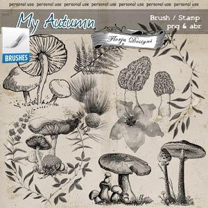 My Autumn { Brush PU } by Florju Designs