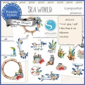 Sea World Compositions by Florju Designs PU