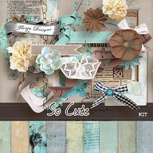 So cute { Kit PU } by Florju Designs
