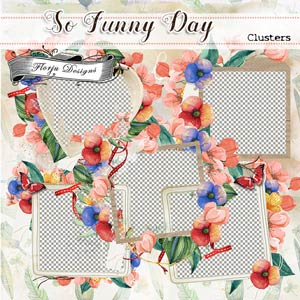 So funny Day { Clusters PU } by Florju designs