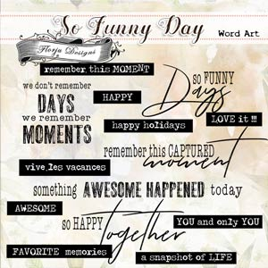 So funny Day { Word Art PU } by Florju designs