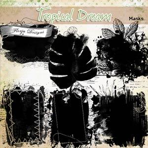 Tropical Dream [ Mask PU ] by Florju Designs