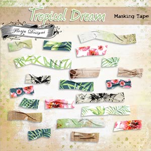 Tropical Dream [ Tape PU ] by Florju Designs