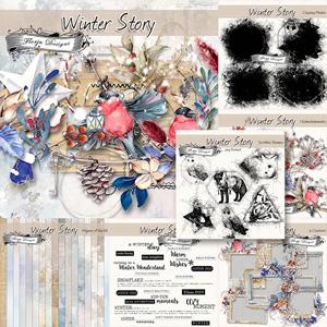 Winter Story [ Bundle PU ] by Florju Designs