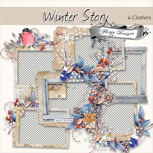 Winter Story [ Clusters PU ] by Florju Designs