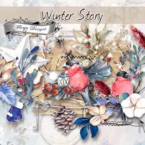 Winter Story [ Kit PU ] by Florju Designs