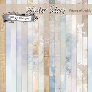 Winter Story [ Papers PU ] by Florju Designs