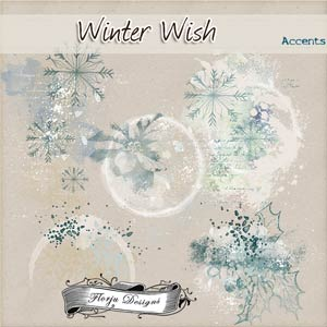 Winter Wish { Accents PU } by Florju Designs