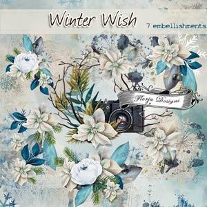 Winter Wish { Embellishments PU } by Florju Designs