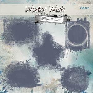 Winter Wish { Masks PU } by Florju Designs