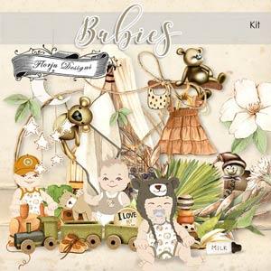 Babies KIT PU By Florju designs