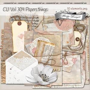 CU vol 309 papers Things { Florju Designs }