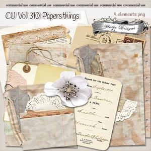 CU vol 310 papers Things { Florju Designs }