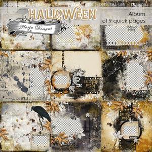 Halloween Album PU by Florju Designs