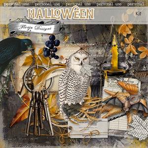 Halloween Kit PU by Florju Designs