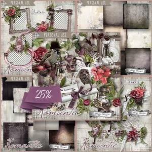 Romantic { Bundle PU } by Florju Designs