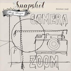 Snapshot { Stitches PU } by Florju Designs