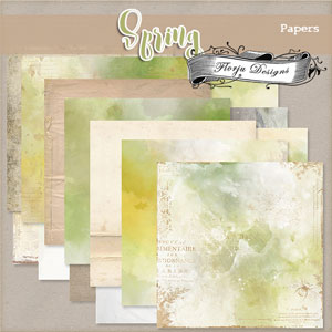 Spring {Papers PU} by Florju Designs