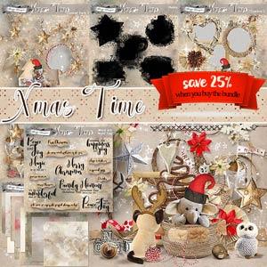 Xmas Time BUNDLE PU by Florju Designs