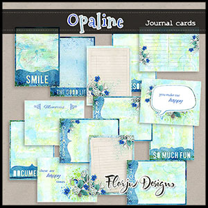 Opaline Journaling Cards 4x3