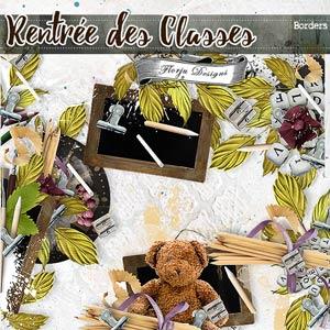 Rentrée des Classes  { Borders PU } by Florju Designs